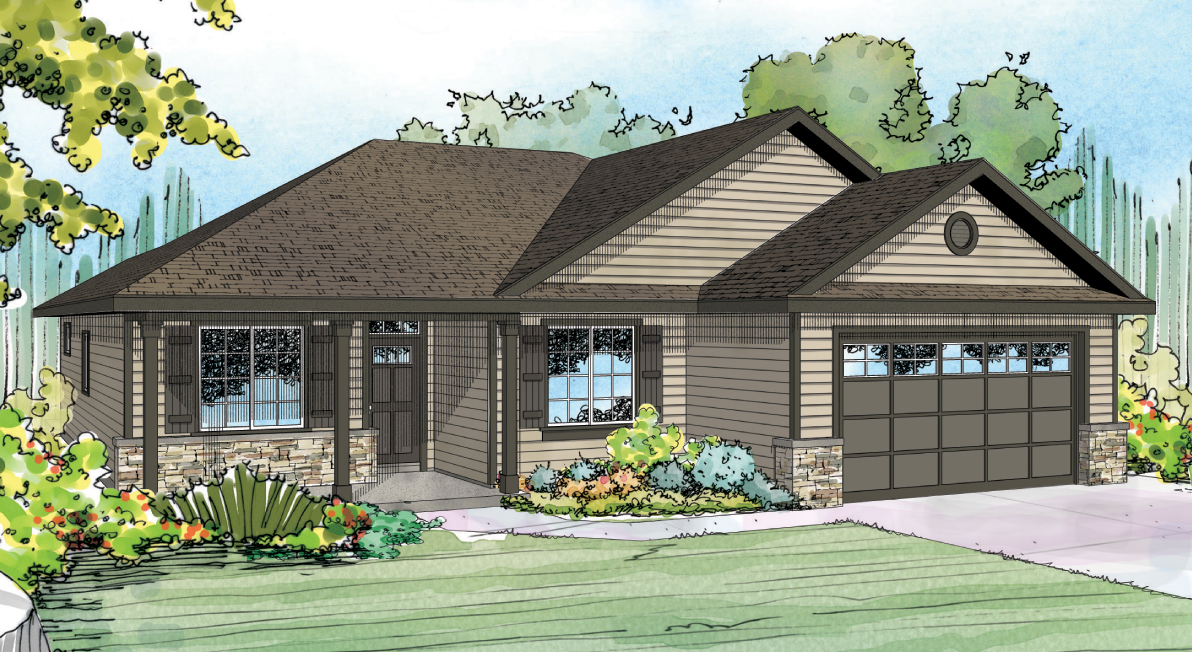 Eastford 30-925, Ranch House Plan, Contemporary House Plan, Home Plan