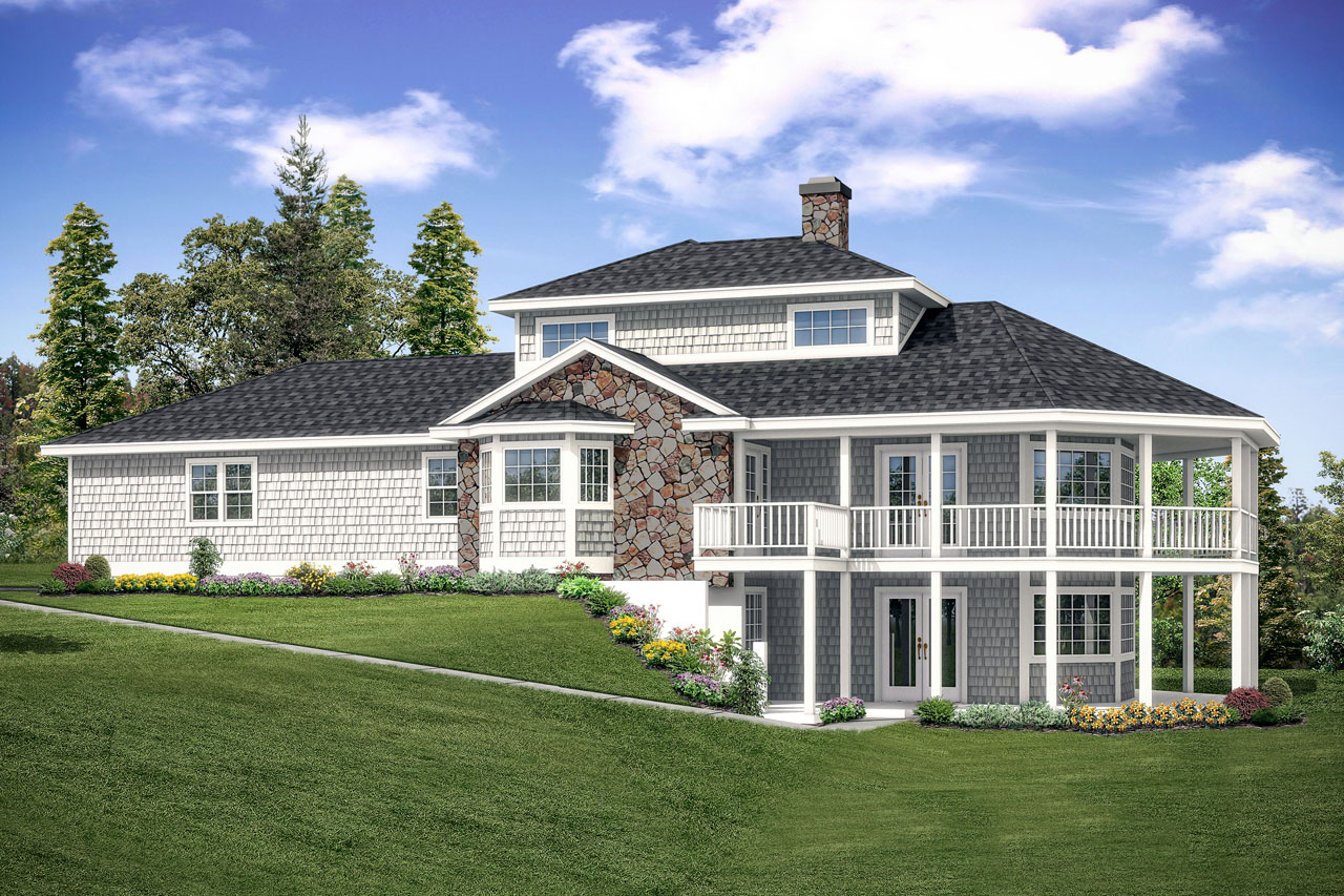 New House Plan, Home Plan, New Haven 10-611