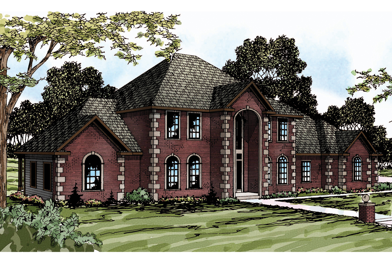 Featured House Plan of the Week, Kersley 30-041, Classic Home Plan, Luxury House Plan
