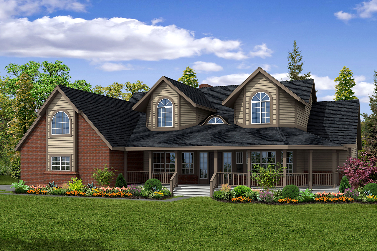 Featured House Plan of the Week, Country House Plan, Home Plan, Heartridge 10-250