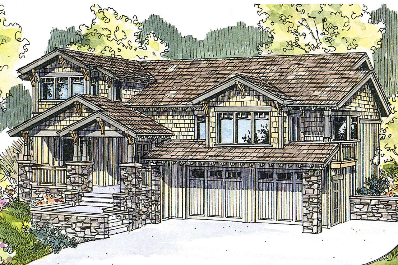Featured House Plan of the Week, Craftsman Home Plan, Kelseyville 30-476