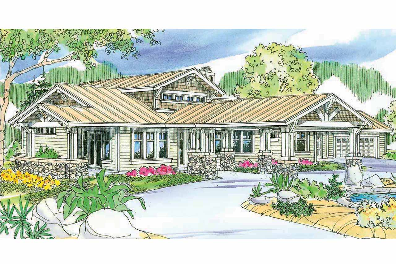 Featured House Plan of the Week, Craftsman House Plan, Home Plan, Springwater 30-661
