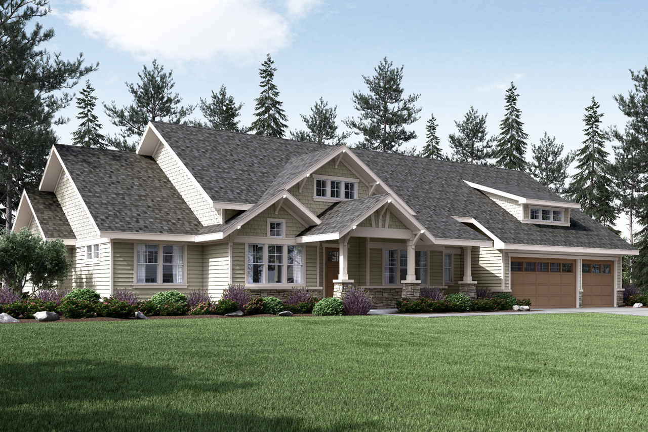 Home from the Heart, Craftsman House Plan, Westheart 10-630