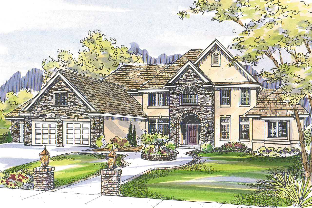 Featured House Plan of the Week, European Home Plan, European House Plan, Avalon 30-306