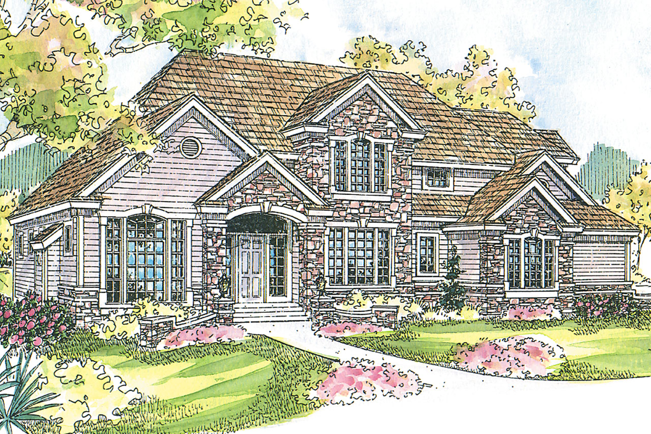 Featured House Plan of the Week, European Home Plan, Stonehaven 30-465