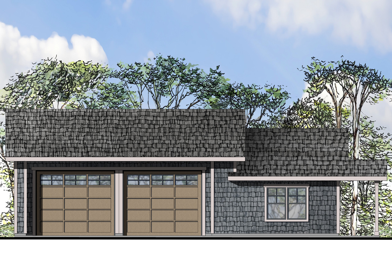 Garage Plan 20-109 - Front Elevation