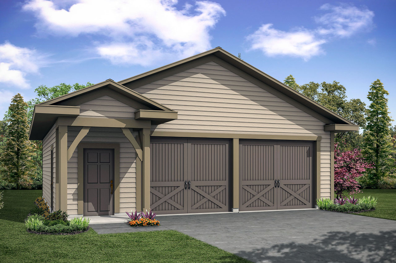 New Garage Plan, Garage Design, 2 Car Garage,