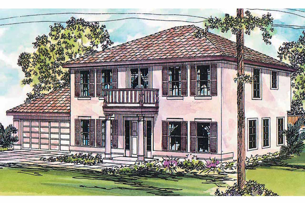 Mediterranean House Plan, Featured House Plan of the Week, Home Plan, Houston 11-044