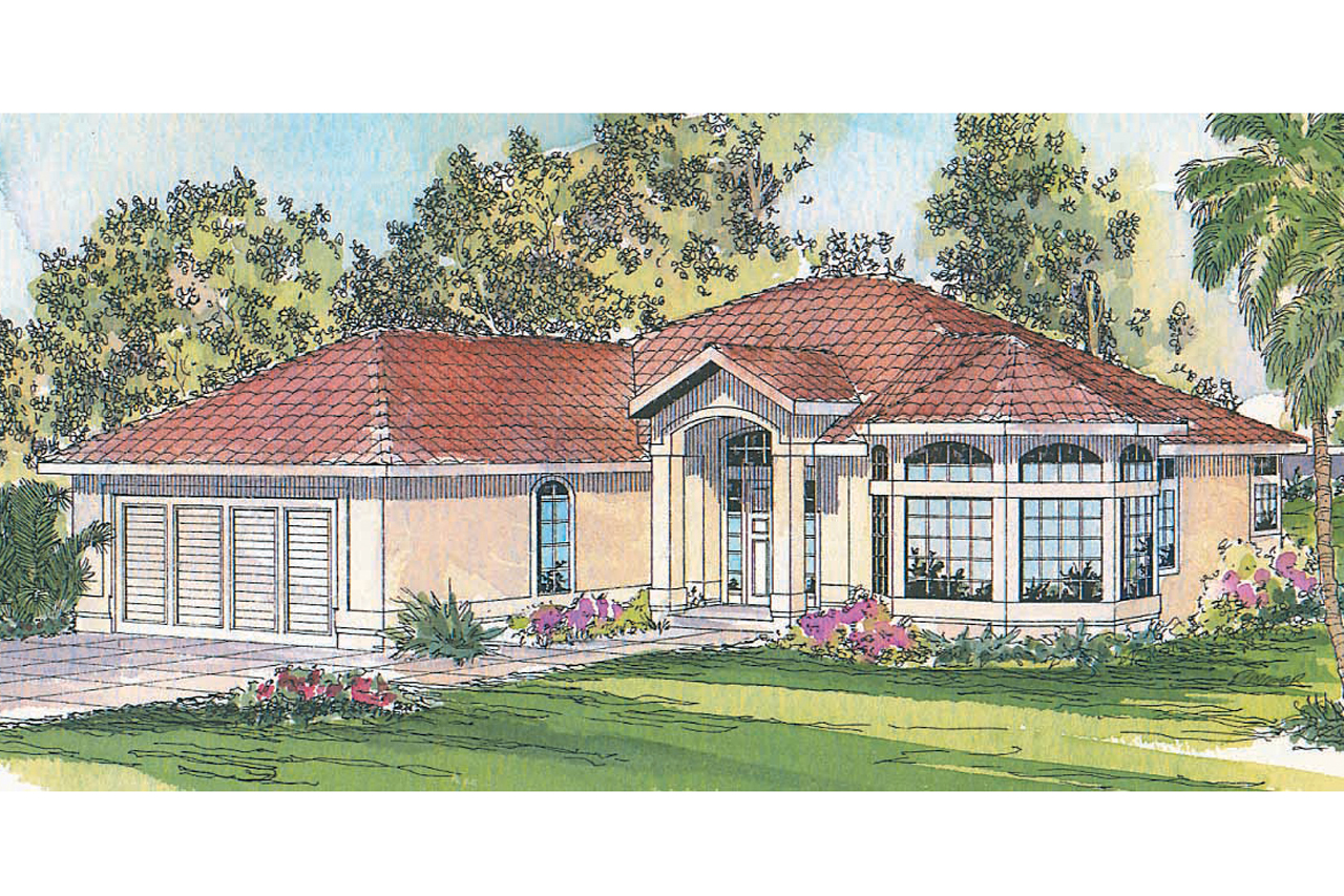 Featured House Plan of the Week, Mediterranean Home Plan, Velarde 11-051