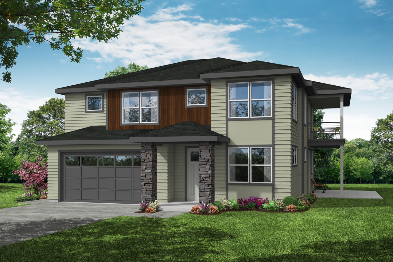 Craftsman House Plan - Clatsop 31-185 - Front Elevation