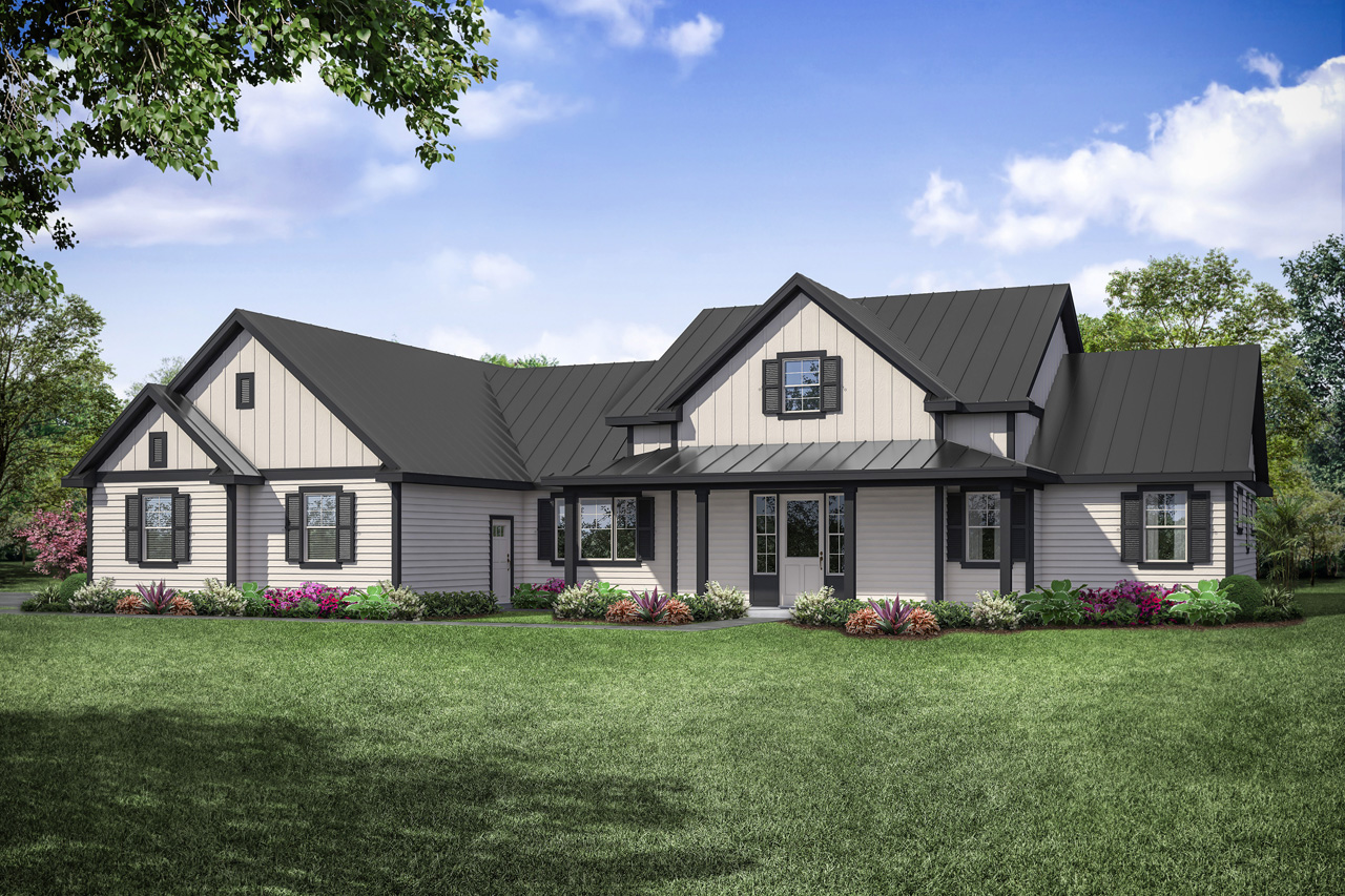 Boulderfield 31-147, Farmhouse plan, home plan