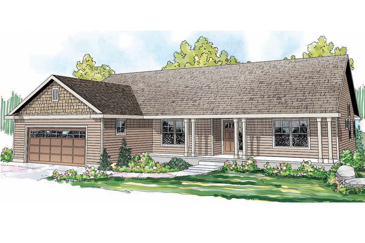 Featured House Plan of the Week, Ranch Home Plan, Fern View 30-766