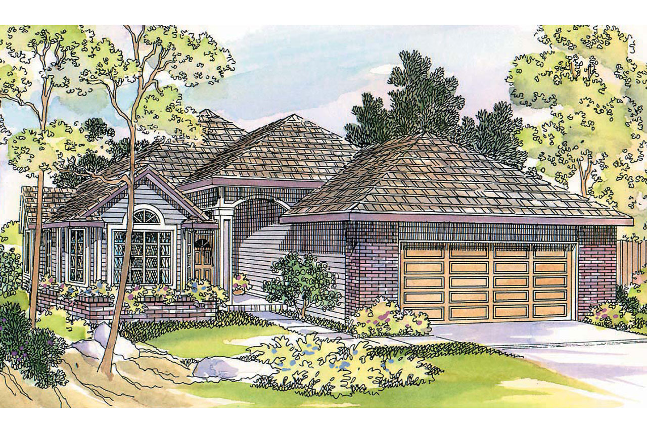 Traditional House Plans - Lynden 30-143